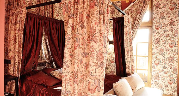 Königliches Gemach Bett